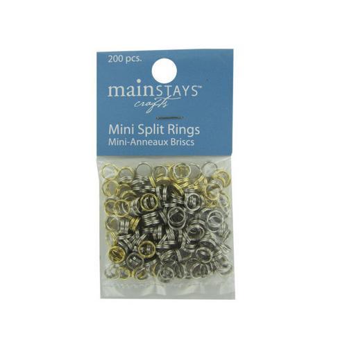 Mini Split Rings Assortment ( Case of 48 )