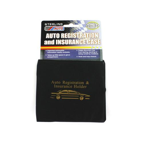 Auto Registration & Insurance Case ( Case of 24 )