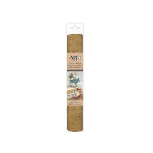 Self-Adhesive Craft Burlap Roll ( Case of 24 )