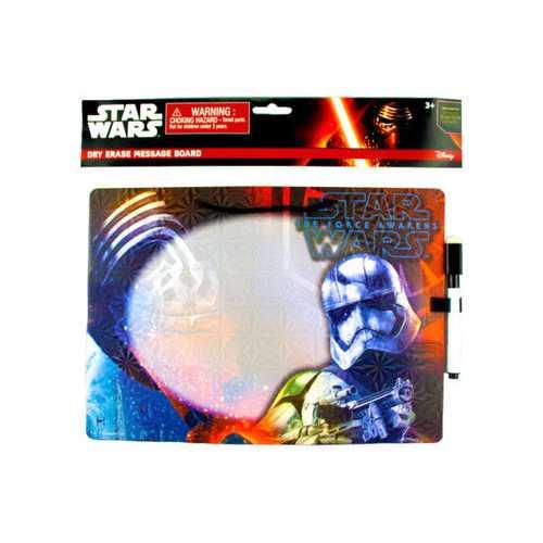 Star Wars Dry Erase Board in Assorted Designs ( Case of 24 )