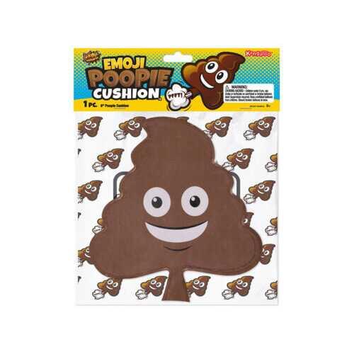 9 Inch Emoticon Poopie Cushion ( Case of 48 )