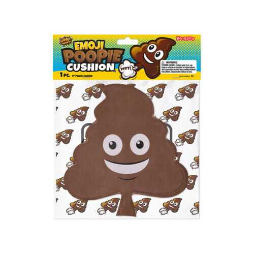 9 Inch Emoticon Poopie Cushion ( Case of 72 )