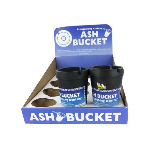 Extinguishing Ashtray Ash Bucket Counter Top Display ( Case of 12 )