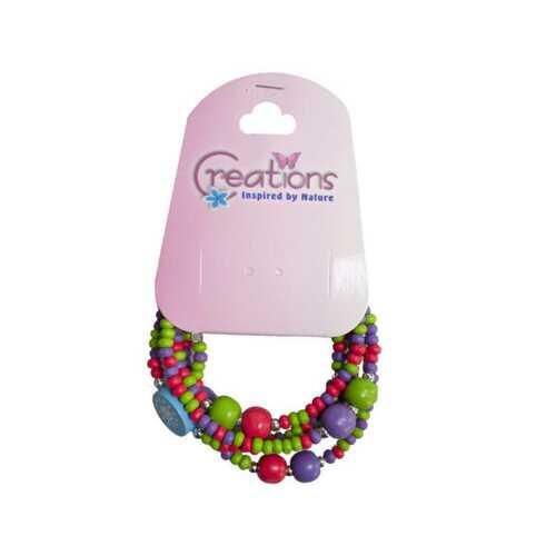 creation elephant themed wrap bracelet ( Case of 48 )