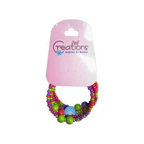 creation butterfly themed wrap bracelet ( Case of 24 )