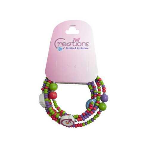 creation penguin themed wrap bracelet ( Case of 24 )