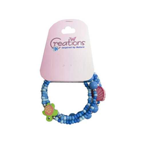 creation sea turtle themed wrap bracelet ( Case of 48 )