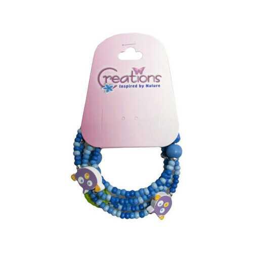 creation fish themed wrap bracelet ( Case of 48 )