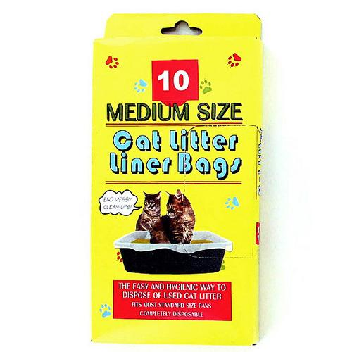 Litter Box Liner Bags ( Case of 24 )