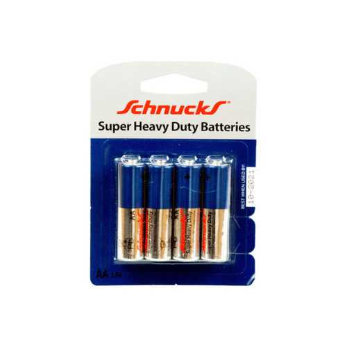 AA Super Heavy Duty Batteries in Blister Pack of Four ( Case of 48 )