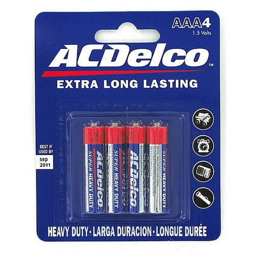 Heavy Duty 'AAA' Batteries ( Case of 24 )