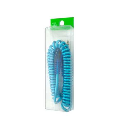 Coiled Auxiliary Cable ( Case of 40 )