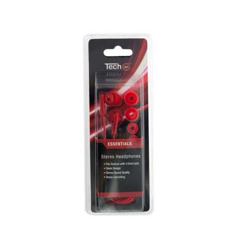 Stereo Headphones with Extra Ear Cushions ( Case of 12 )