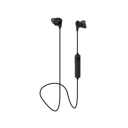 Black Bluetooth Conturbuds Wireless Sport Earbuds ( Case of 4 )