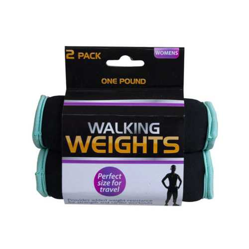 2 Pack 1 Pound Walking Weights ( Case of 6 )