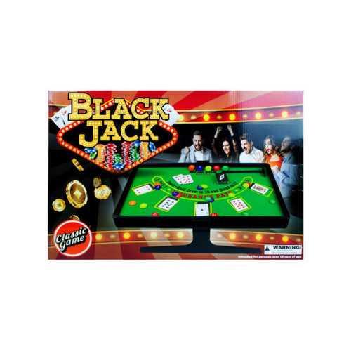 Texas Hold'em and Blackjack Game Set ( Case of 1 )
