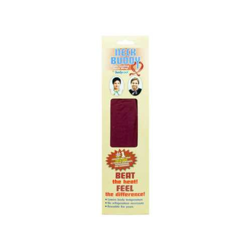 Burgundy Neck Buddy Cooling Wrap ( Case of 24 )