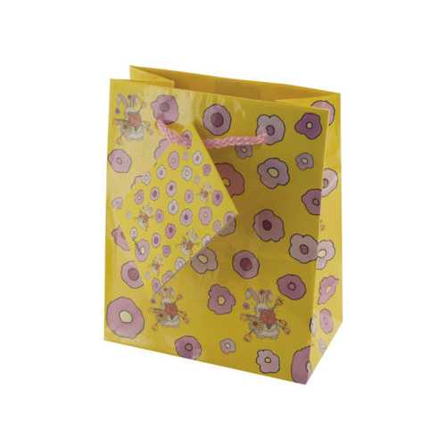 Small Rabbits & Flowers Gift Bag ( Case of 108 )