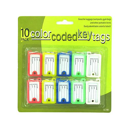 Color Coded Key Tags ( Case of 48 )