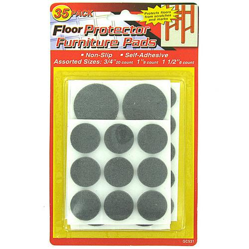 Floor Protecting Furniture Pads ( Case of 48 )