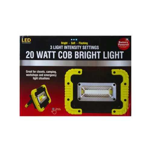 20 Watt Cob Bright Light ( Case of 4 )