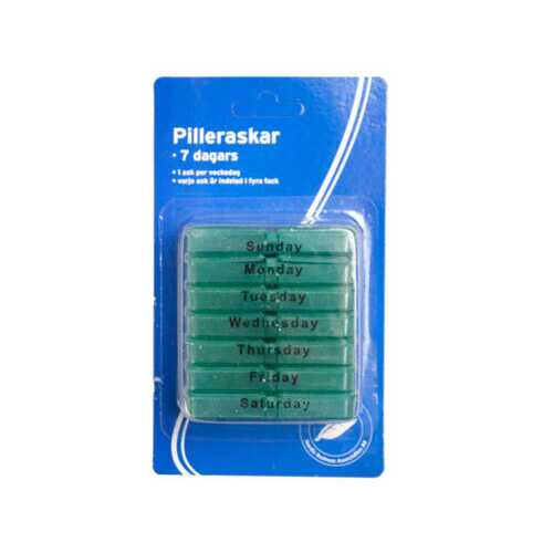 7 Day Pill Box in Tray ( Case of 48 )