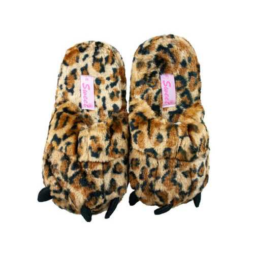Women's Animal Print Slippers- Assorted Styles & Sizes ( Case of 9 )
