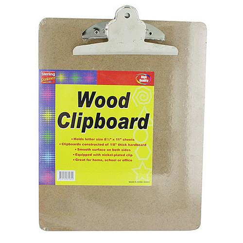 Wood Clipboard ( Case of 48 )