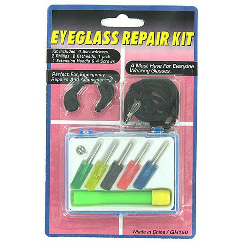 Eyeglass Repair Kit with Case ( Case of 72 )