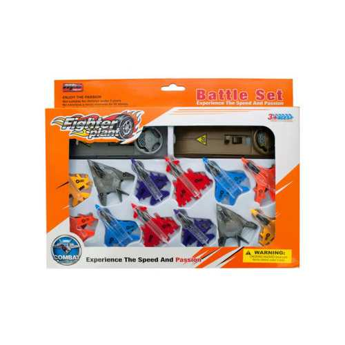 Launcher Jet Fighter Planes Set ( Case of 8 )