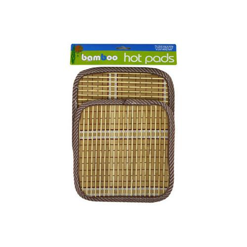 Bamboo Hot Pads ( Case of 24 )