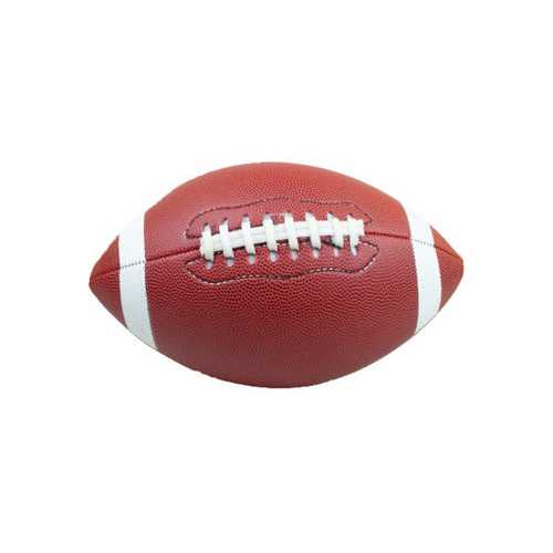 Size 9 Machine Sewing Faux Leather Football ( Case of 6 )