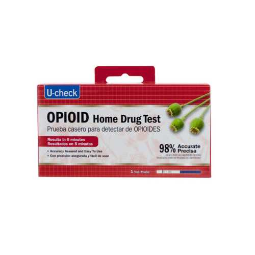 U-Check Opioid Home Drug Test ( Case of 36 )