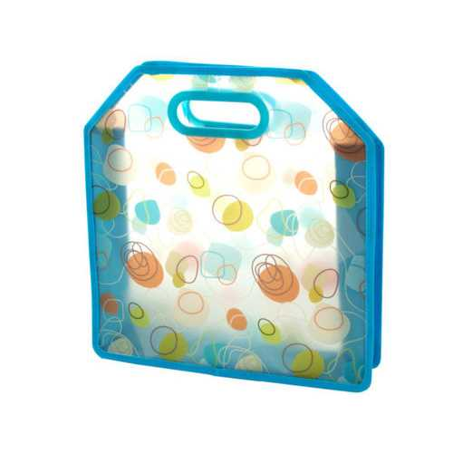 Blue Retro Print Tote Bag ( Case of 24 )