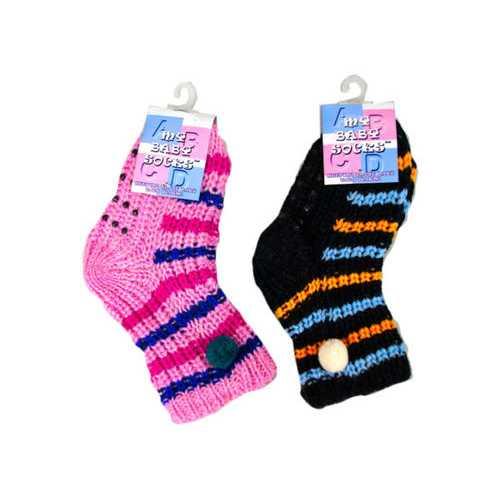 Colorful Design Cotton Socks ( Case of 24 )