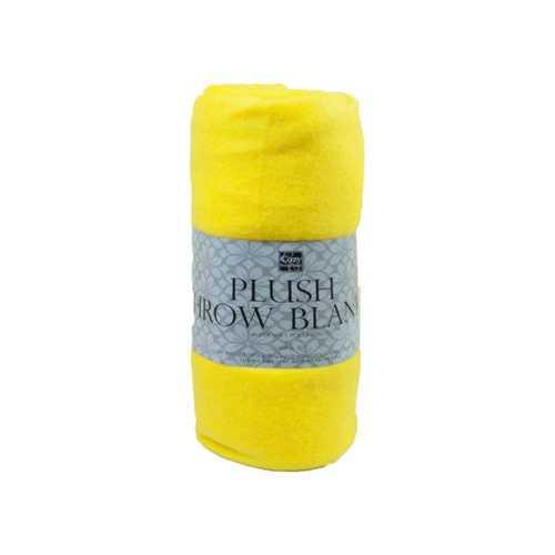 """50""""x 60"""" Fleece Throw Blanket in Assorted Colors ( Case of 12 )"""