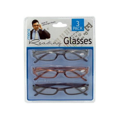 Men's Reading Glasses ( Case of 4 )