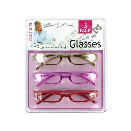 Women's Reading Glasses ( Case of 4 )