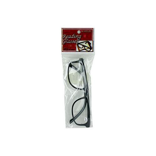 Acrylic Reading Glasses ( Case of 72 )