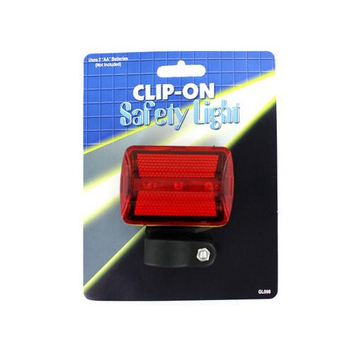 Clip-On Bicycle Safety Light ( Case of 12 )