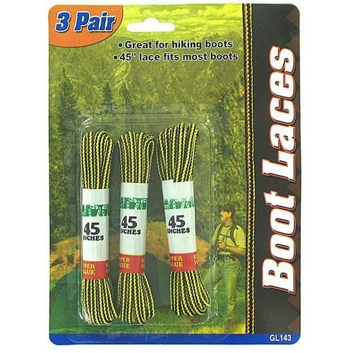 Nylon Boot Laces ( Case of 48 )