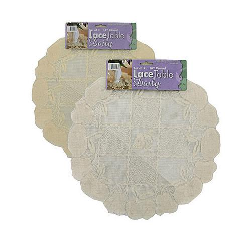 Lace Table Doilies ( Case of 24 )