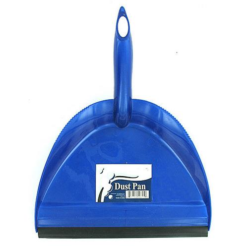 Wide Mouth Dust Pan with Rubber Edge ( Case of 24 )