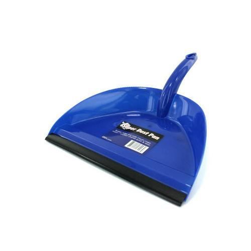 Wide Mouth Dust Pan with Rubber Edge ( Case of 72 )