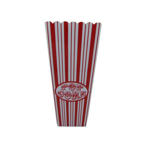 35 oz Red Striped Popcorn Bucket ( Case of 80 )