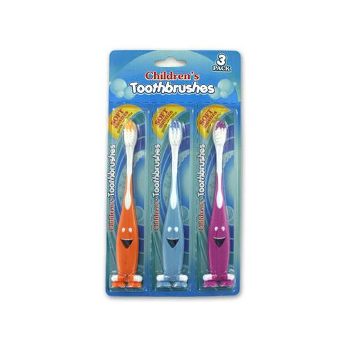 Kids Colorful Toothbrush Set ( Case of 48 )