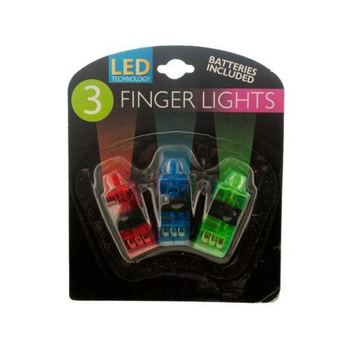 LED Finger Lights ( Case of 24 )