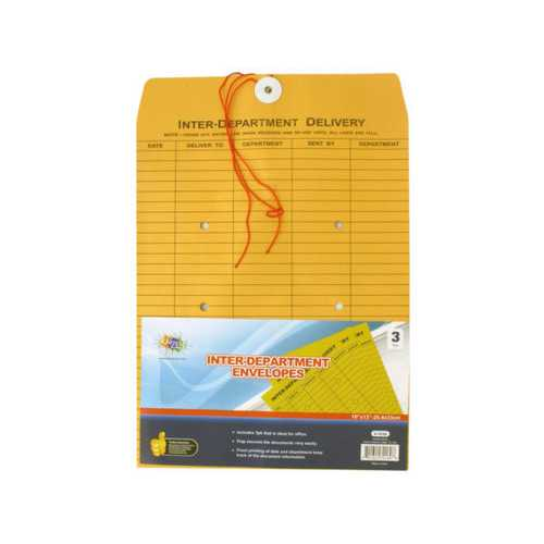 "Inter-Department Envelopes 10"" ( Case of 24 )"