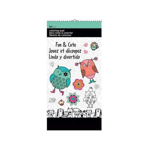 Fun & Cute Small Coloring Pad ( Case of 72 )