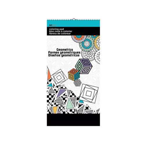Geometrics Small Coloring Pad ( Case of 24 )